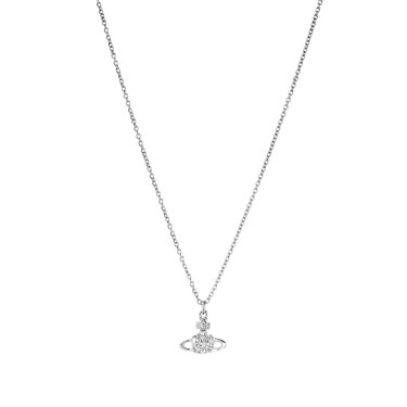 Vivienne Westwood Reina Rhodium Necklace  - Click to view larger image