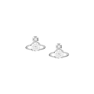 Vivienne Westwood Reina Rhodium Earrings   - Click to view larger image