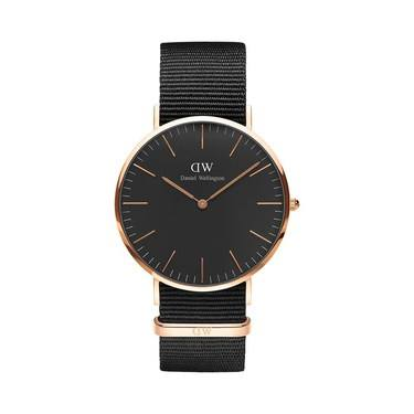 Daniel Wellington Classic Black Cornwall 40mm Watch  - Click to view larger image