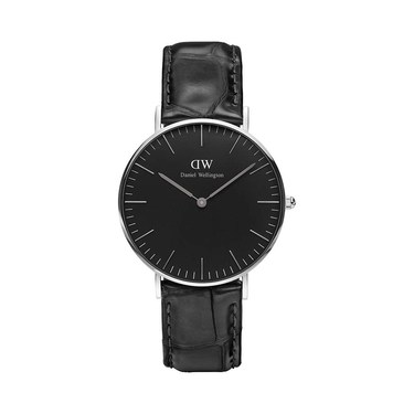 Daniel Wellington Classic Black Reading 36mm  Watch  - Click to view larger image