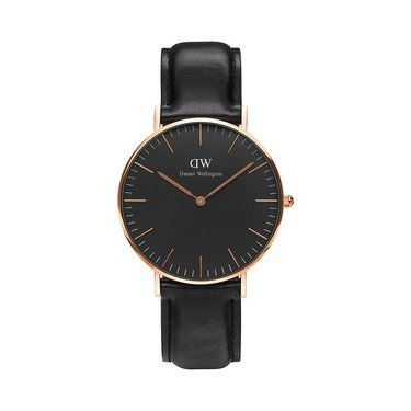 Daniel Wellington Classic Black Sheffield 36mm Watch  - Click to view larger image