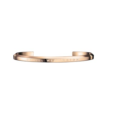 Daniel Wellington Small Rose Gold Classic Cuff   - Click to view larger image