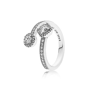 Pandora Abstract Elegance Open Ring  - Click to view larger image