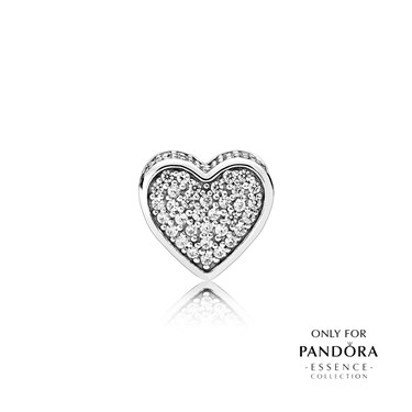 PANDORA ESSENCE Love Charm  - Click to view larger image