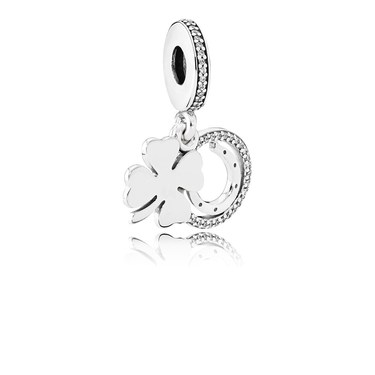 Pandora Lucky Day Pendant Charm  - Click to view larger image