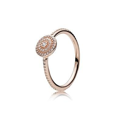 Pandora Radiant Elegance Rose Ring  - Click to view larger image