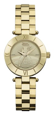 Vivienne Westwood Gold Westbourne Orb Watch  - Click to view larger image
