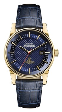 Vivienne Westwood Navy The Finsbury II Watch  - Click to view larger image