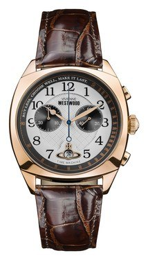 Vivienne Westwood Rose Gold and Burgundy Hampstead Watch  - Click to view larger image
