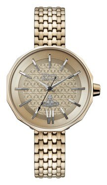 Vivienne Westwood Rose Gold Edgeware Watch  - Click to view larger image