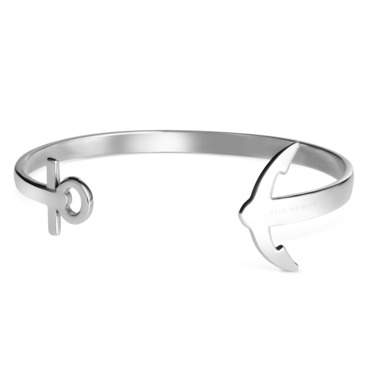 Paul Hewitt Ancuff Bracelet Silver  - Click to view larger image