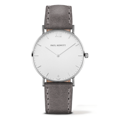 Paul Hewitt Sailor Line Grey & Silver Watch  - Click to view larger image