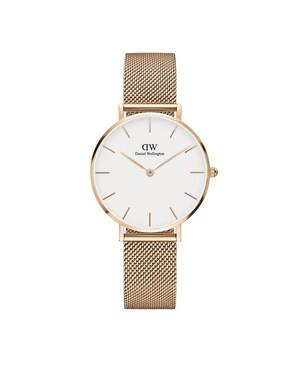 Daniel Wellington Classic Petite Melrose White Dial Watch  - Click to view larger image