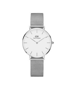 Daniel Wellington Classic Petite Sterling White Dial Watch  - Click to view larger image