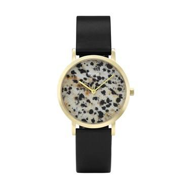 CLUSE La Roche Petite Gold Dalmatian Watch  - Click to view larger image