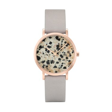 CLUSE La Roche Petite Rose Gold Dalmatian Watch  - Click to view larger image