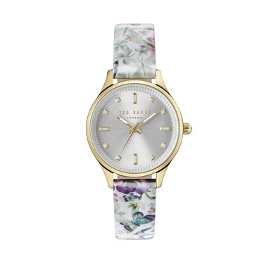 Ted Baker Entangled Enchantment Print Zoe Watch  - Click to view larger image