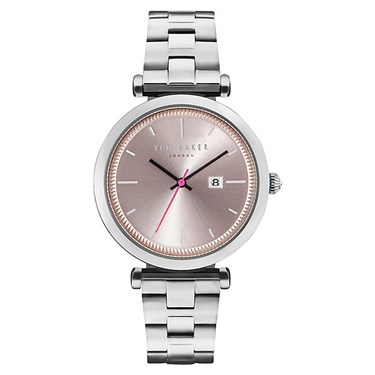Ted Baker Ladies Ava Silver Stainless Steel Watch  - Click to view larger image