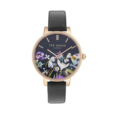 Ted Baker Black Entangled Enchantment Kate Watch  - Click to view larger image