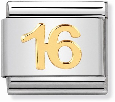 Nomination 16th Birthday Charm  - Click to view larger image