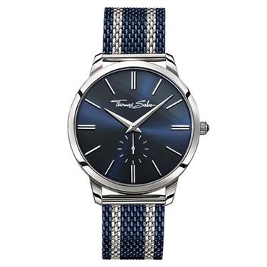 Thomas Sabo Mens Blue & Silver Rebel Spirit Watch  - Click to view larger image