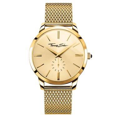 Thomas Sabo Mens Gold Rebel Spirit Watch
