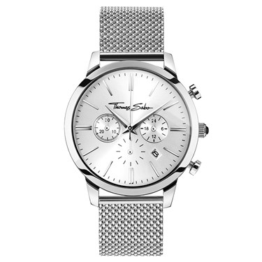 Thomas Sabo Mens Silver Chrono Rebel Spirit Watch