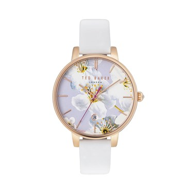 Ted Baker White Oriental Blossom Kate Watch  - Click to view larger image