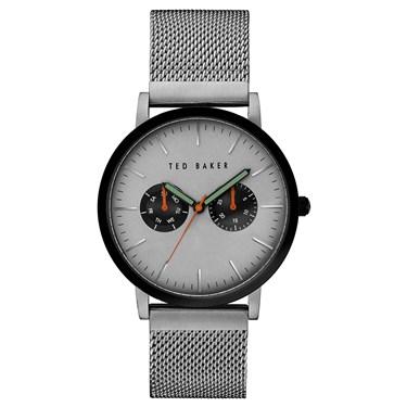 Ted Baker Mens Grey Mesh Brit Watch