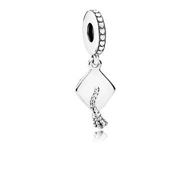 Pandora Graduation Pendant Charm  - Click to view larger image