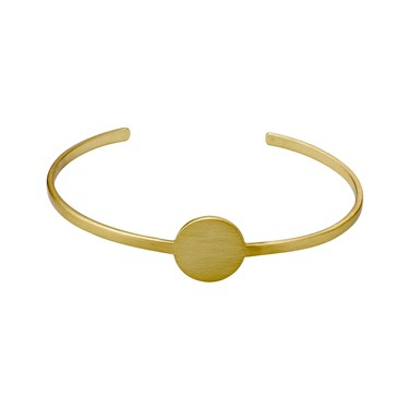 Pilgrim Mell Gold Bangle  - Click to view larger image