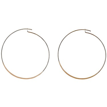 Pilgrim Rose Gold Tilly Hoop Earrings  - Click to view larger image