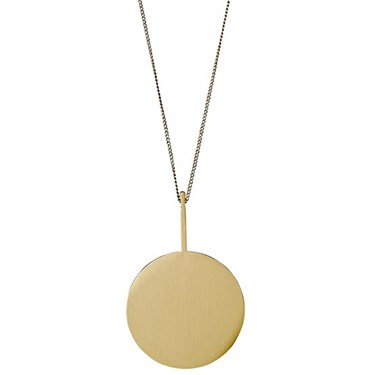 Pilgrim Mell Gold Necklace  - Click to view larger image