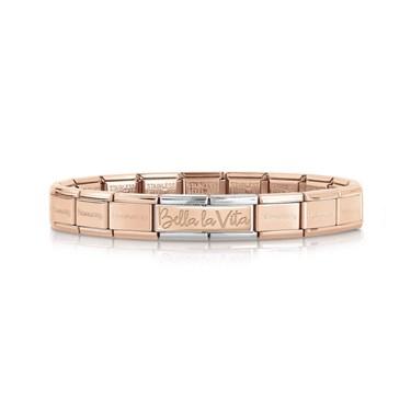Nomination Bella La Vita Rose Gold Bracelet  - Click to view larger image