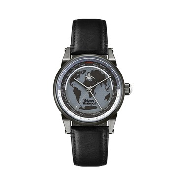 Vivienne Westwood Finsbury World Unisex Watch  - Click to view larger image