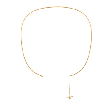 Olivia Burton 3D Bee and Ball Gold Choker   - Click to view larger image