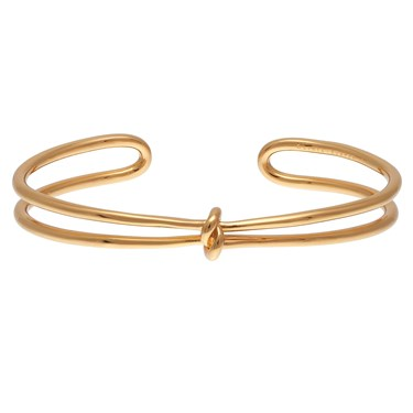 Olivia Burton Forget Me Knot Gold Cuff  - Click to view larger image