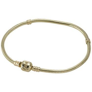 PANDORA 14ct Gold Bracelet   - Click to view larger image