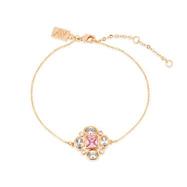 August Woods Rose Gold Embellished Bracelet  - Click to view larger image