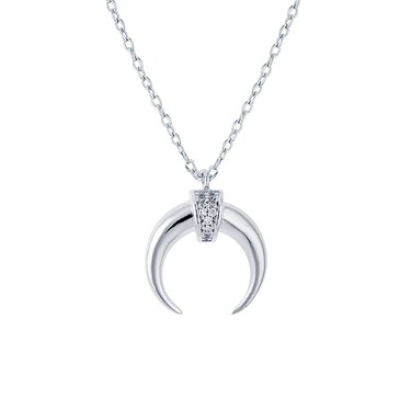 necklac sterling fullxfull silver original crescent moon necklace il products