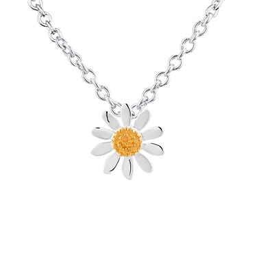 Argento Petite Daisy Necklace  - Click to view larger image