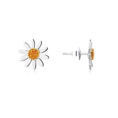 Argento Daisy Studs  - Click to view larger image