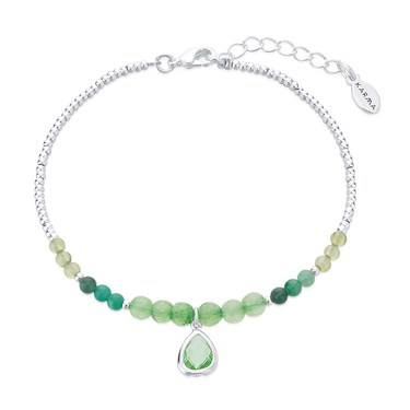 Karma August Birthstone Beaded Bracelet   - Click to view larger image
