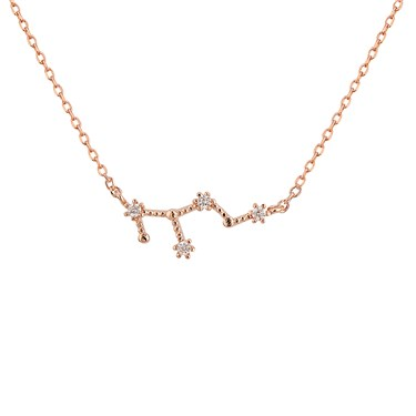 people constellation taurus simple necklace real seen zodiac products more in as