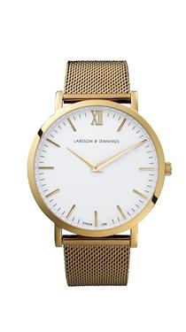 Larsson & Jennings  Lugano 40mm Gold Watch  - Click to view larger image