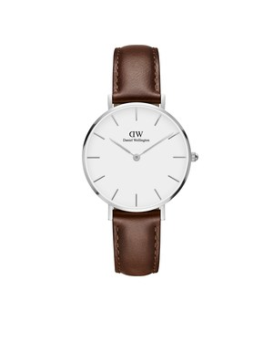 Daniel Wellington Classic Petite St Mawes Silver Watch  - Click to view larger image