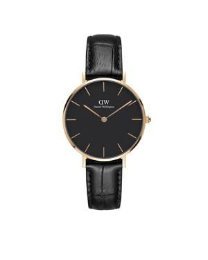 Daniel Wellington Classic Petite Reading Rose Gold & Black Watch  - Click to view larger image