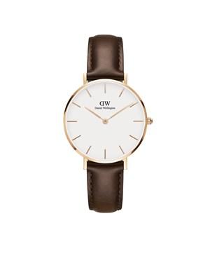 Daniel Wellington Classic Petite Rose Gold Bristol Watch  - Click to view larger image
