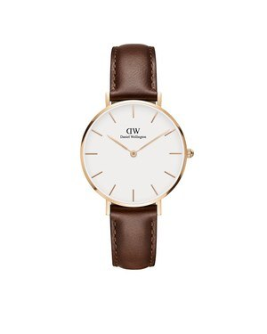 Daniel Wellington Classic Petite St Mawes Rose Gold Watch  - Click to view larger image