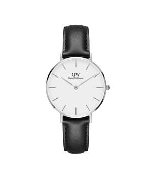 Daniel Wellington Classic Petite Sheffield Silver Watch  - Click to view larger image